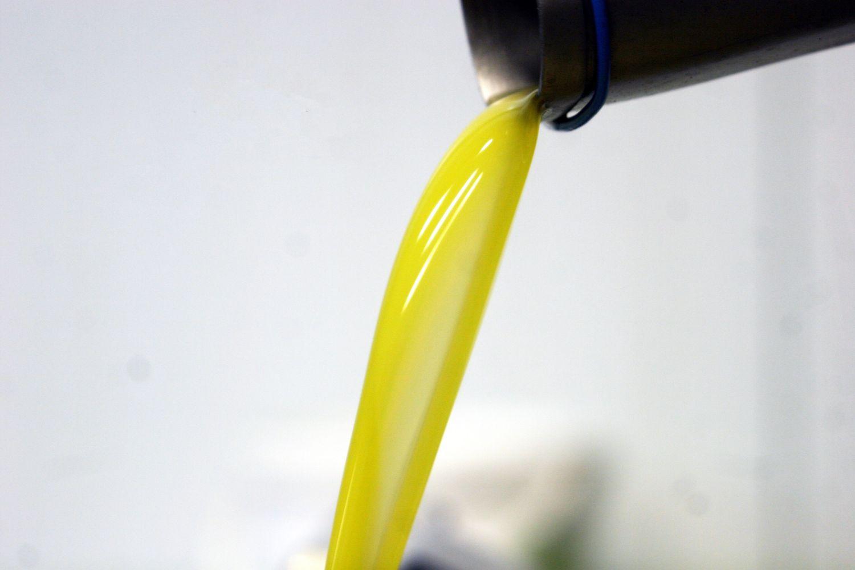 huile sortie de la centrifugeuse