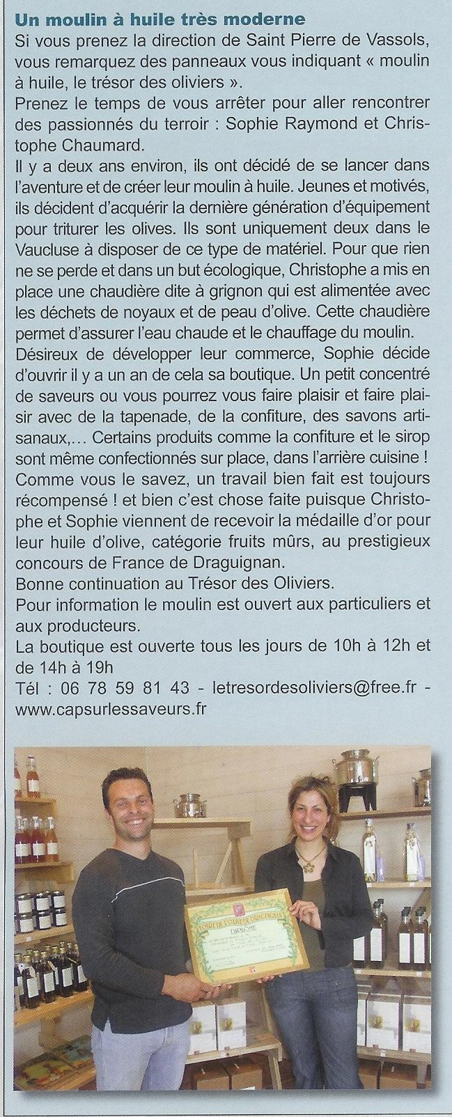 bulletin municipal mazan été 2009